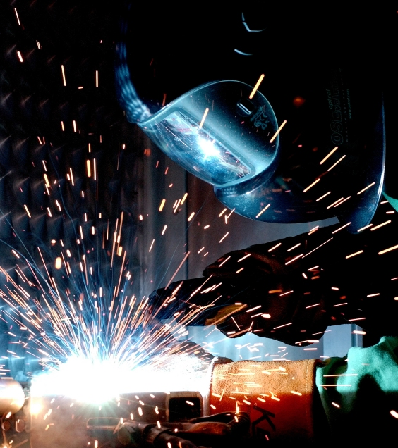Welding it together